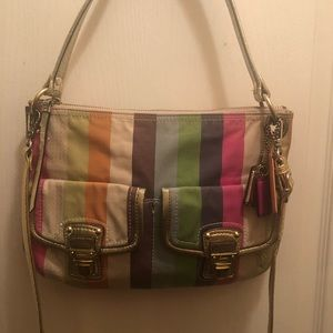 Coach Colorful Medium Sized  Bag
